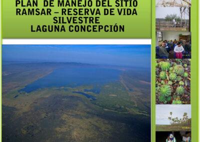 Plan de Manejo del Sitio RAMSAR Laguna Concepción
