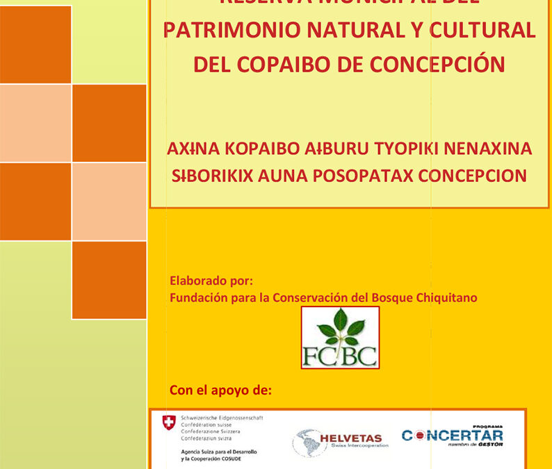 Plan de Manejo de la Reserva Municipal de Copaibo Fase I