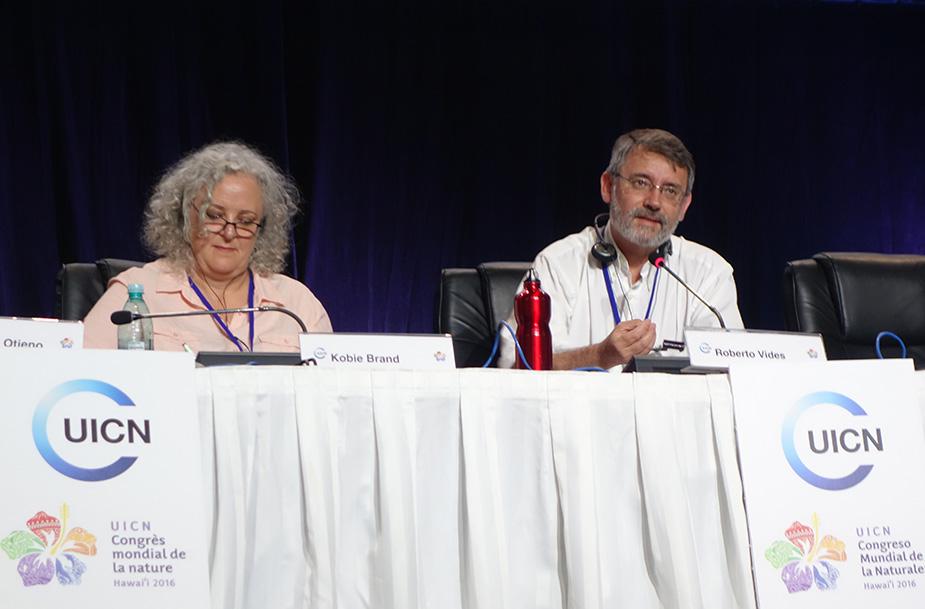 FCBC en el Congreso Mundial de Conservación de la UICN