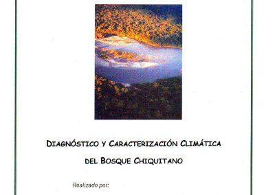Diagnóstico Climático del Bosque Chiquitano