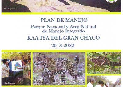 Plan de Manejo ANMI Kaa Iya del Gran Chaco 2013-2022