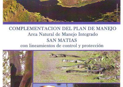 Complementación del Plan de Manejo ANMI San Matías