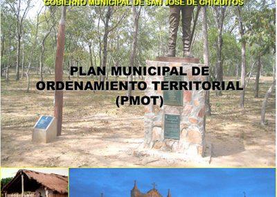 Plan Municipal de Ordenamiento Territorial San José de Chiquitos 2005-2014
