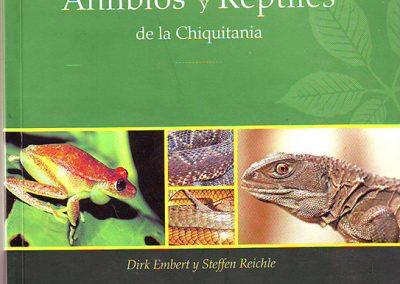 Guía de anfibios y reptiles de la Chiquitania