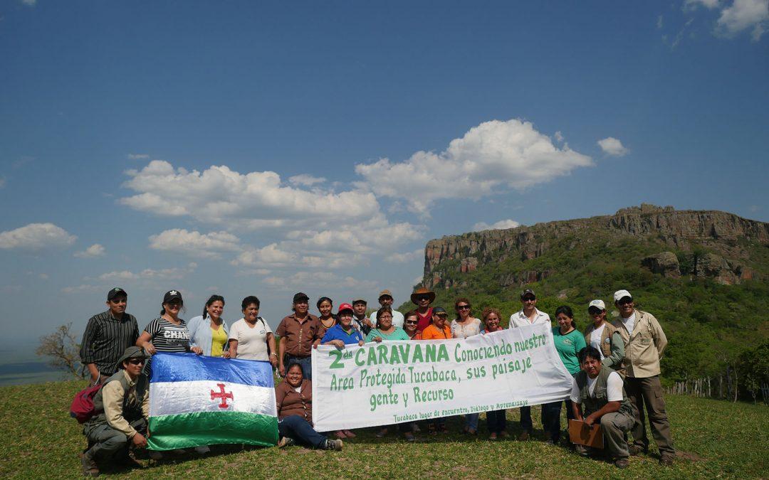 """2da. CARAVANA """"Conociendo nuestra Área Protegida Tucabaca, sus paisajes, gente y recursos»"""