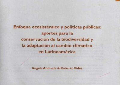 Enfoque ecosistémico y políticas públicas