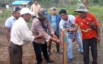 Instalación de sistema de agua en la comunidad Santa Teresita de Surutú