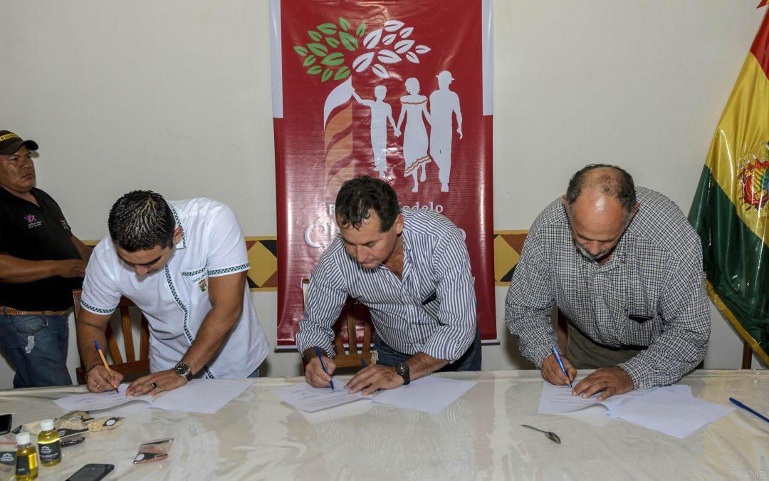 BMCH logra acuerdo de producción orgánica en el Área Protegida Municipal de Copaibo