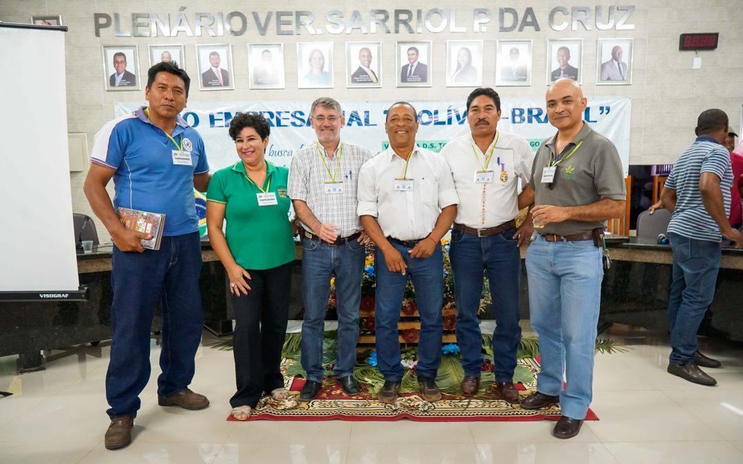 FCBC participó en el Foro Empresarial «Bolivia – Brasil» en Vila Bela