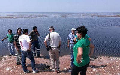 FCBC y Alcaldía de SIV recorren el «Área Protegida Laguna Marfil»