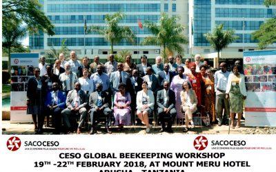 FCBC representó a Sudamérica en Workshop de CESO sobre cría de abejas