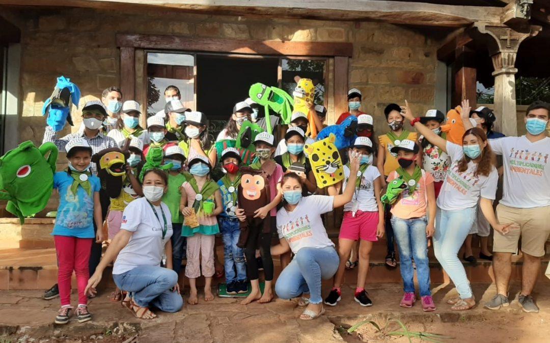 Mujeres y niños de Santiago de Chiquitos participan de actividades de sensibilización y educación ambiental