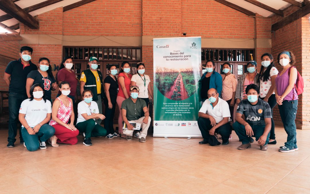 Equipo técnico de la FCBC realiza capacitaciones ambientales a representantes de 6 municipios de la ecorregión del Bosque Seco Chiquitano