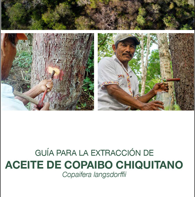 Guía para la extracción de aceite de copaibo