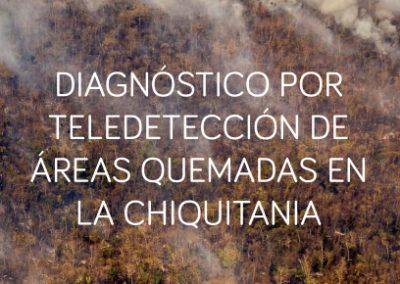 Diagnóstico por teledetección de áreas quemadas en la Chiquitanía