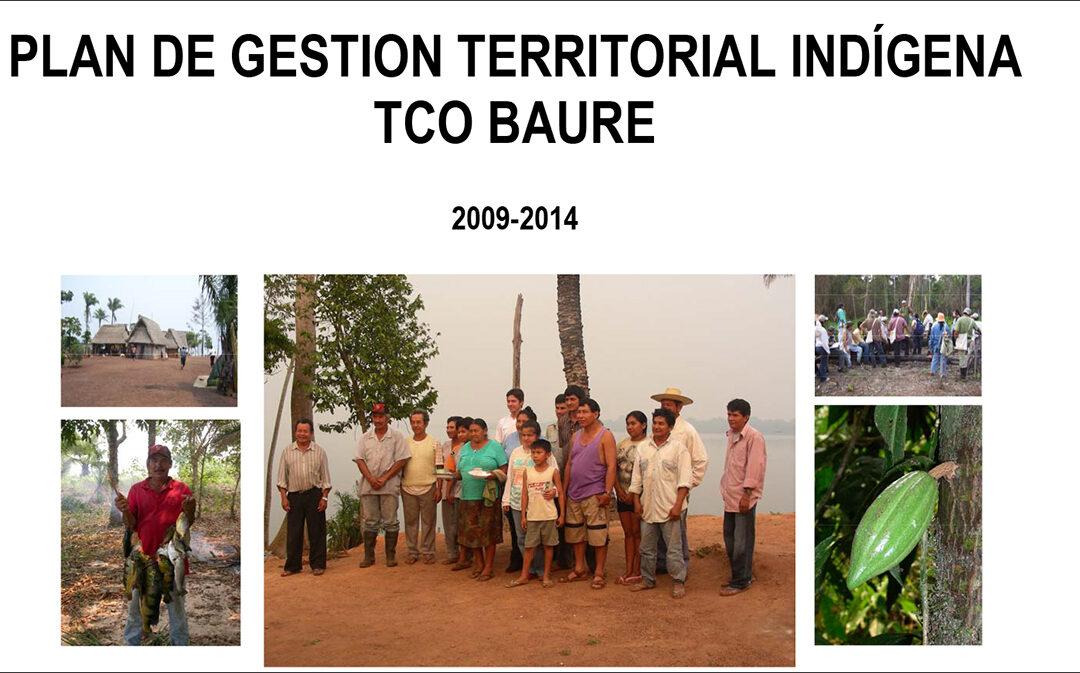 Plan de Gestión Territorial Indígena TCO Baure