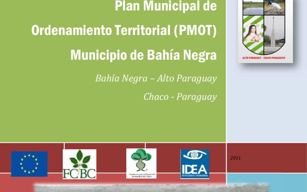 Plan Municipal de Ordenamiento Territorial de Bahía Negra