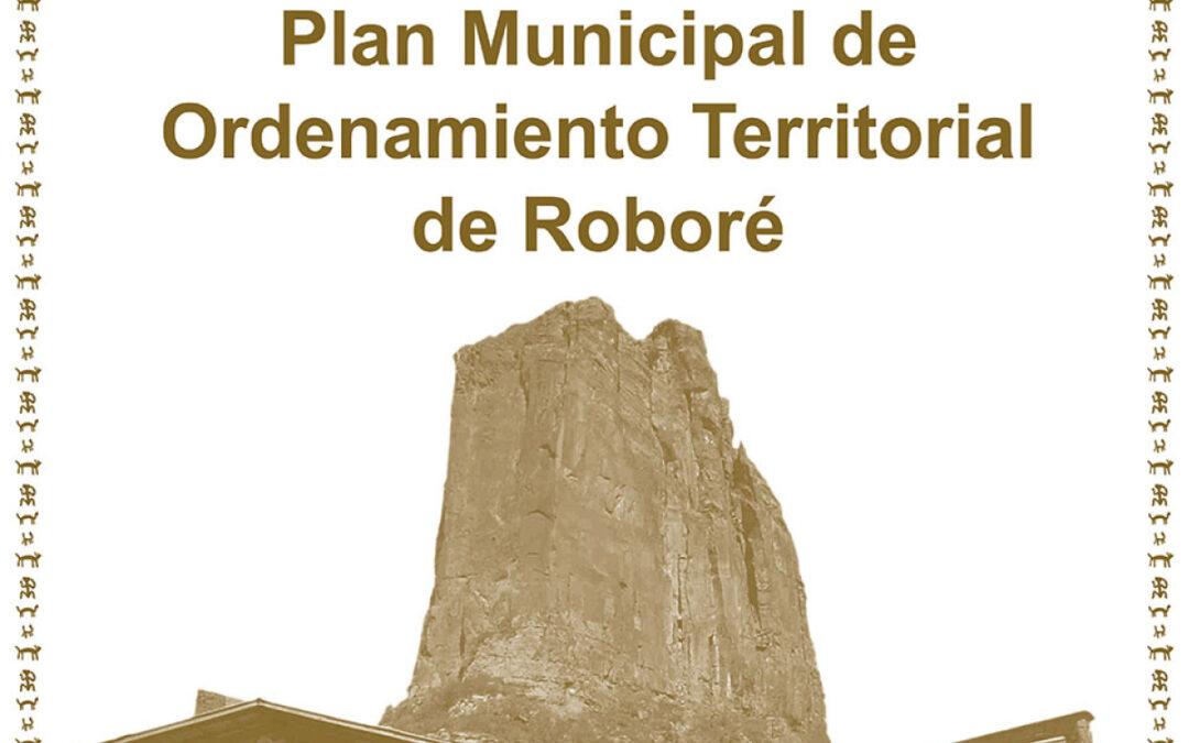 Plan Municipal de Ordenamiento Territorial del Municipio de Roboré
