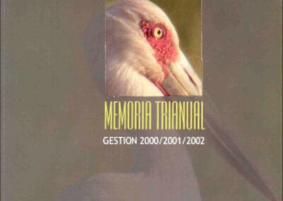 Memoria Trianual 2000-2002
