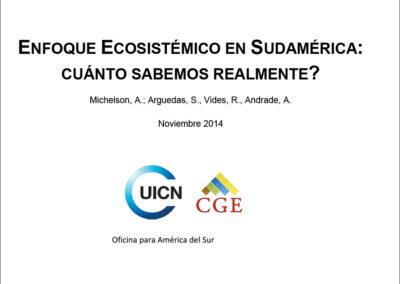 Enfoque ecosistémico en sudamérica