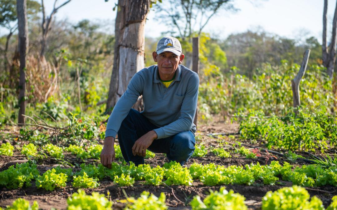 Que se corra la voz: Luego de más de 15 años, Santo Corazón ya tiene un productor de verduras, su nombre es José Luis Flores Parada