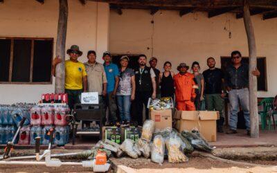 ENTREGA DE DONACIÓN Y EQUIPAMIENTO AL ANMI SAN MATÍAS CON RECURSOS RECAUDADOS POR LA PLATAFORMA PIENSA VERDE BOLIVIA